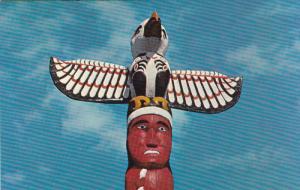 Totem Pole, Georgia Park, NANAIMO, British Columbia, Canada, 40-60's