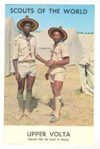 Boy Scouts of the World, Upper Volta,40-60s