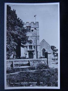 Kent APPLEDORE St Peter & St Paul Church - Old RP Postcard by E.& H. Ltd