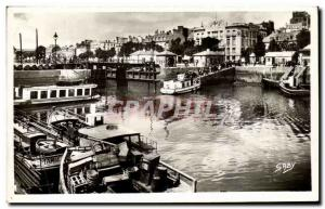 Old Postcard Lorient Port Boat