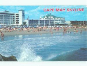 Unused Pre-1980 MOTELS ALONG BEACH Cape May New Jersey NJ d6500