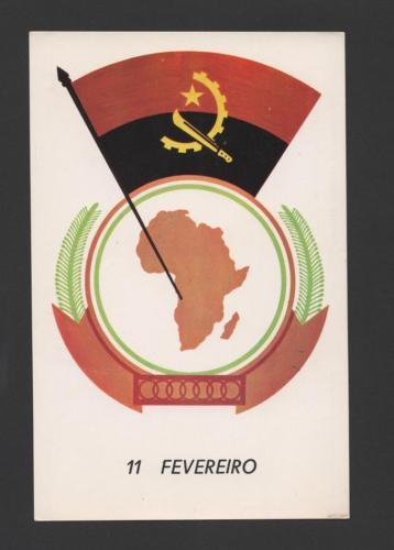 ANGOLA 1981 6years in OUA AFRICA Organization of African ...