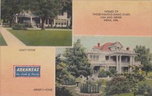 Arkansas Mena Homes Of Radio Stars Lum & Abner
