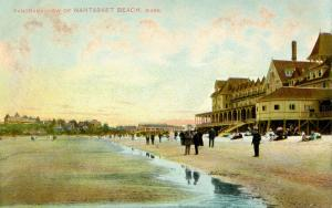 MA - Nantasket Beach. View of Beach and Shore Properties