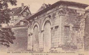 LANGRES, The Roman Gate, Haute Marne, Framce, 00-10s
