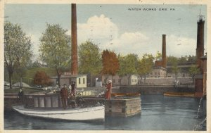 ERIE , Pennsylvania, 1910 ; Entrance to Waldameer Park