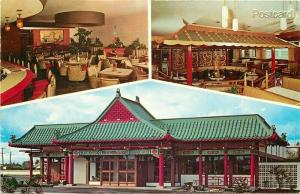 OR, Portland, Oregon, Chinese Gardens, Exotic Restaurant, Dexter Press No 9187-C