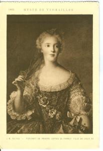 Nattier, Portrait de Madame Sophie de France