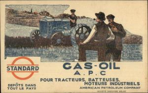 Standard Gas Oil Farm Tractor APC American Petroleum Co Cover Stamps Cancels