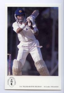 su3535 - Int. Cricketer - Tillekaratine Dilshan, Sri Lanka/Bloomfield - postcard