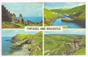 4-Views, King Arthur's Castle, Tintagel Beach, Harbour, Boscastle, Cornwall, ...