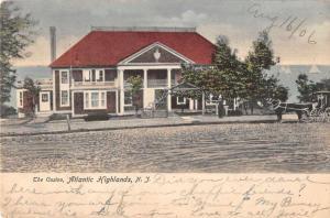 Atlantic Highlands New Jersey The Casino Vintage Postcard J926912