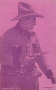 Cowboy Actor Jack Dougherty , 30s
