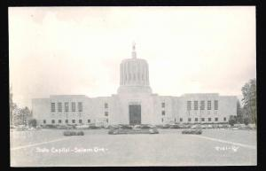 State Capitol Building RPPC Salem Oregon unused c1940's