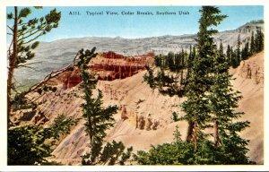 Utah Cedar Breaks Typical View