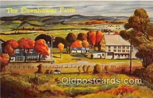 Artist Lane Studio Postcard Eisenhower Farm