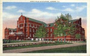 Mercyville Sanitarium Aurora IL Unused
