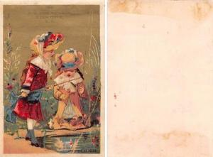 Approx Size Inches = 3 x 4.25 R.M. Bownes & Co Trade Card
