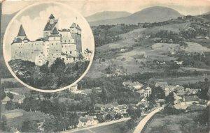 Romania Bran Castle ,to Sohodol Postcard