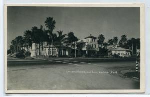 Carlsbad Hotel By The Sea Carlsbad California 1950c RPPC Real Photo postcard