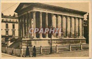 Postcard Old Nimes (Gard) La Maison Carree