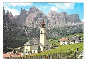 Italy Gries Bolzano South Tyrol Alps Verso il Catinaccio Panorama 4X6 Postcard