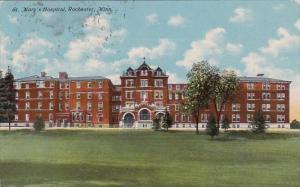 Minnesota Rochester Saint Marys Hospital 1919