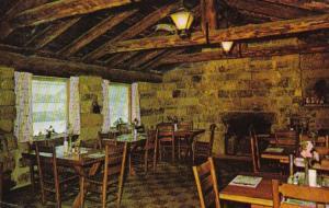 Arkansas Devil's Den State Park Dining Room 1968