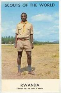 Scouts Of The World, RWANDA, 1968