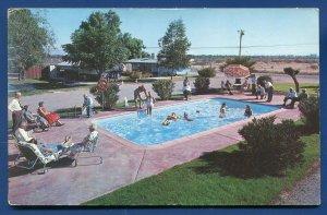 Bermuda Garden Trailer Park Tucson Arizona az old chrome postcard