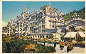Switzerland Montreux Palace Hotel Montreux 1953