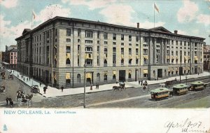 Custom House, New Orleans, Louisiana, Early Postcard, Used in 1907