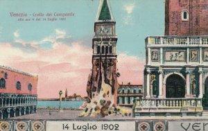 VENEZIA , Italy , 1900-10s; Crollo del Campanile