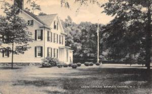 Caldwell New Jersey Grover Cleveland Birthplace Antique Postcard K107845