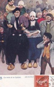 La viste de la Capitale , 1911 ; Dutch Family ; TUCK # 615