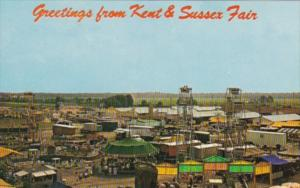 Greetings From The Kent & Sussex Fair Harrington Delaware