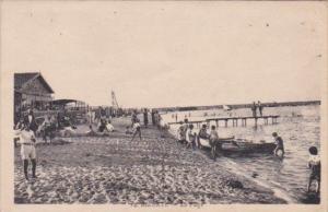 Tunisisa Bizerte La Plage Beach Scene