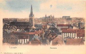 Panorama Louvain Belgium Unused