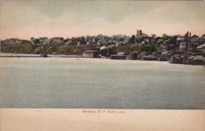 New York Geneva View From The Lake