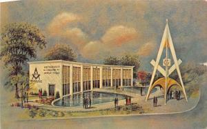 12149  New York World's Fair, 1964-1965  Masonic Brotherhood Center