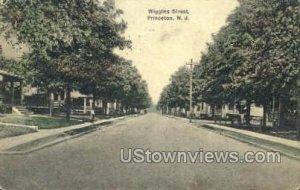 Wiggins Street in Princeton, New Jersey