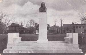 Rochester, New York - Schiller Monument - pm 1911 - DB