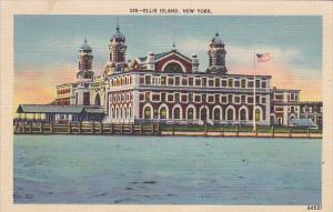 Immigration Depot, Ellis Island, New York, 1942 PU