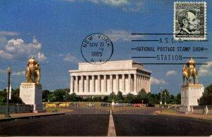 President Abraham Lincoln - Lincoln Memorial