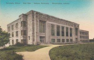 BLOOMINGTON , Indiana University , 00-10s ; East side University School