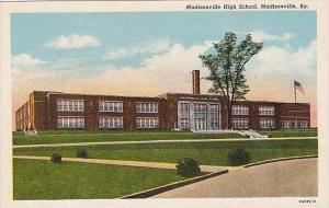 Kentucky Madisonville Madisonville High School Curteich