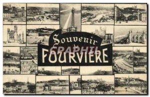 Old Postcard Remembrance Fourviere Lyon