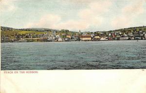 Nyack New York c1906 Postcard On the Hudson River Rockland County