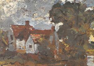 John Constable - Mill Stream