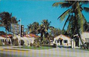 Florida Riviera Beach Spanish Court 1957
